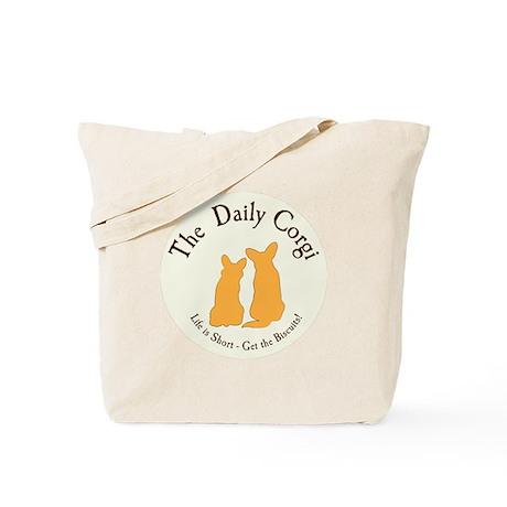 The Daily Corgi Totebag