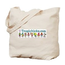 Tropichicks Cast of Characters Tote Bag