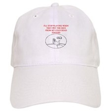 craps player joke Baseball Cap