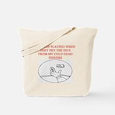 craps player joke Tote Bag