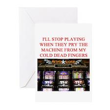 slota player joke Greeting Cards (Pk of 20)