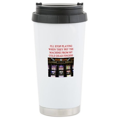 slota player joke Stainless Steel Travel Mug