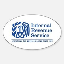 The IRS Sticker (Oval)