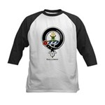 Galloway Clan Crest Badge Kids Baseball Jersey