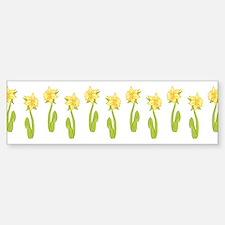 Daffodils Bumper Bumper Sticker