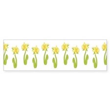 Daffodils Sticker (Bumper)