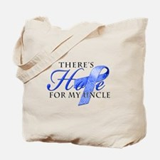 There's Hope for Colon Cancer Uncle Tote Bag