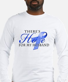 There's Hope for Colon Cancer Husband Long Sleeve