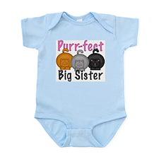 Purr-fect Big Sister Infant Bodysuit
