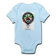 Fraser Clan Crest Badge Infant Creeper