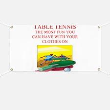 table tennis player joke Banner