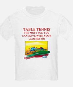 table tennis player joke T-Shirt