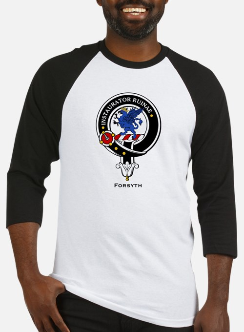 Forsyth Clan Crest Badge Baseball Jersey