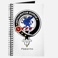 Forsyth Clan Crest Badge Journal