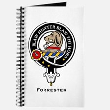 Forrester Clan Crest badge Journal