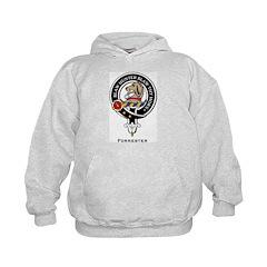 Forrester Clan Crest badge Hoodie