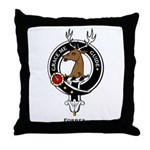 Forbes Clan Crest Badge Throw Pillow