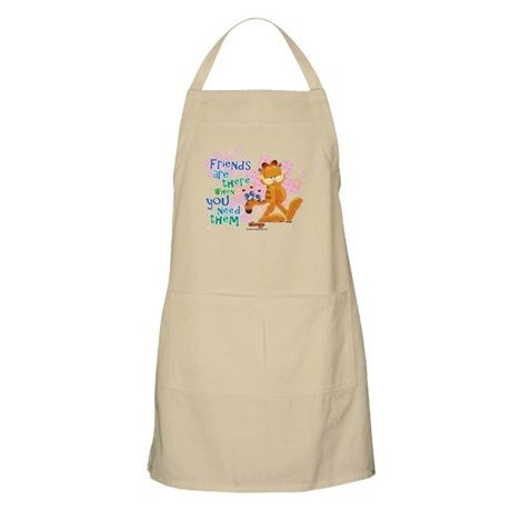 """""""Friends Are There"""" Garfield Apron"""