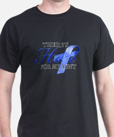 There's Hope for Colon Cancer Aunt T-Shirt