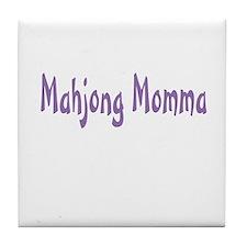 Mahjong Momma Tile Coaster