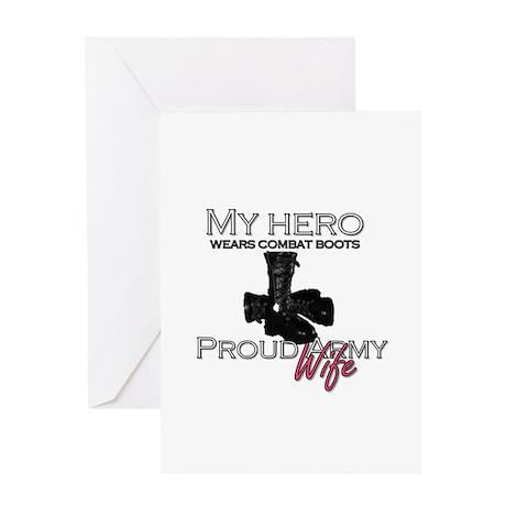 black/wife Greeting Card