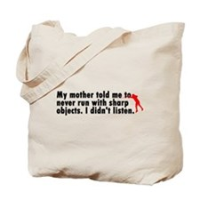 Sharp Objects Tote Bag