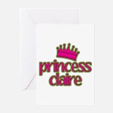 Princess Claire Greeting Cards (Pk of 20)