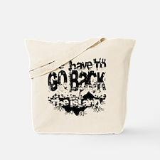 Go Back Tote Bag