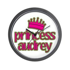 Princess Audrey Wall Clock