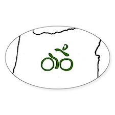 Bike in Oregon Decal