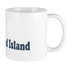 Bald Head Island NC - Beach Design Mug