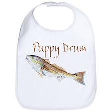 Puppy Drum fish Bib