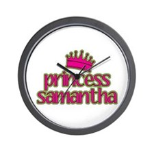 Princess Samantha Wall Clock