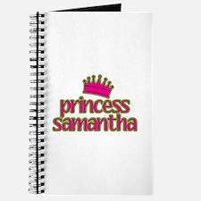 Princess Samantha Journal