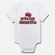 Princess Samantha Infant Bodysuit