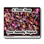 Dozen Roses Mousepad