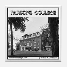Parsons College Tile Coaster
