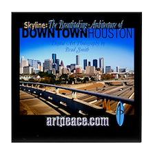 View Houston Tile Coaster
