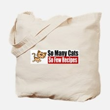 So Many Cats Tote Bag