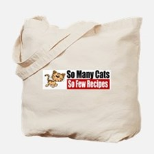 So Many Cats Tote Bag