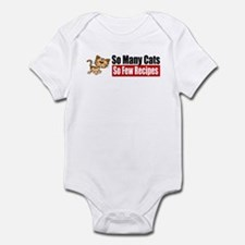 So Many Cats Infant Bodysuit