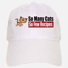 So Many Cats Baseball Baseball Cap