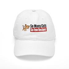So Many Cats Baseball Cap