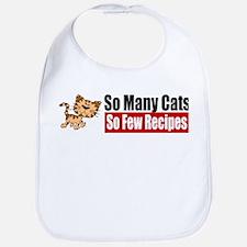 So Many Cats Bib