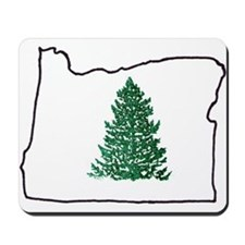 Tree in Oregon Mousepad