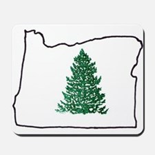 Tree in Oregon Mousepad
