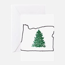 Tree in Oregon Greeting Card