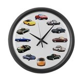 Miata Wall Clocks
