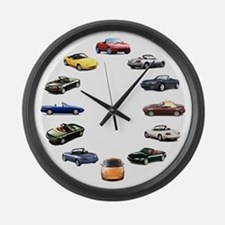 Miata Large Wall Clock
