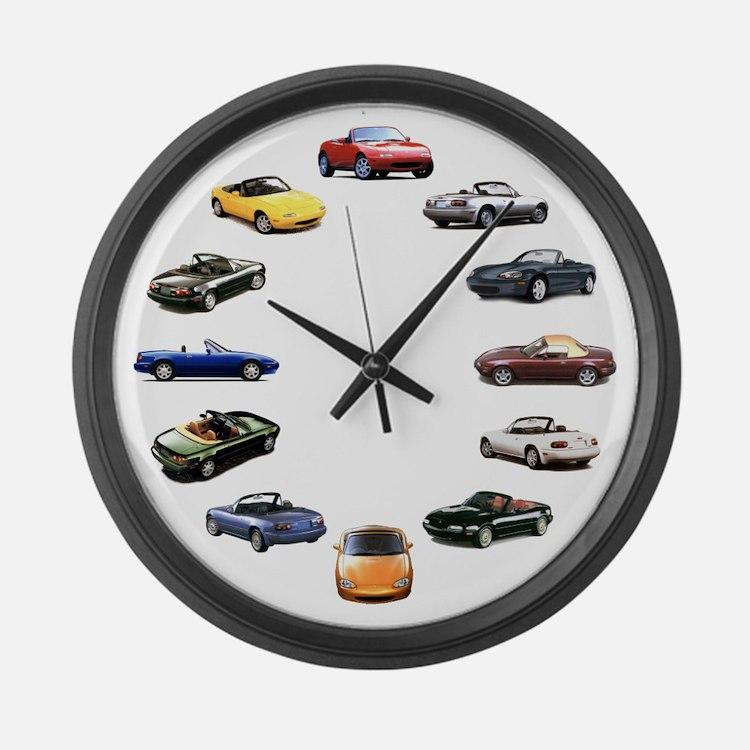 Miata Large Wall Clock
